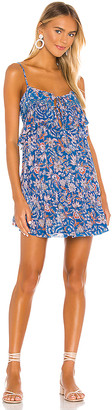 Free People Take Me With You Ruffle Dress