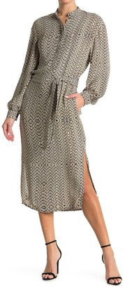 Reiss Mellie Bead Print Dress
