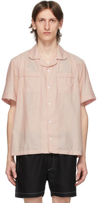 Saturdays NYC Pink Cameron Shirt