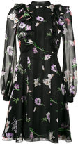 Giambattista Valli floral print ruffle dress - women - Silk/Polyamide - 40