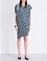 Issey Miyake Pine Nut pleated dress