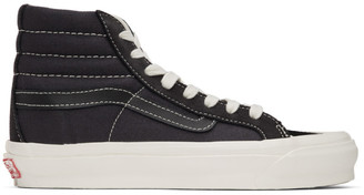 Vans Black Suede OG 138 LX High-Top Sneakers