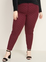 Old Navy Mid-Rise Secret-Slim Pockets Plus-Size Pixie Pants