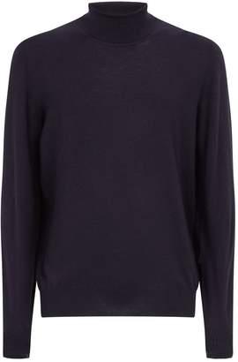 Maison Margiela Elbow-Patch Rollneck Sweater