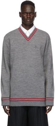 Maison Margiela Grey Gauge 12 Knit Sweater