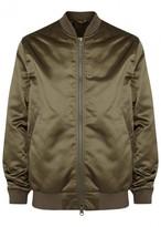 Acne Studios Selo Dark Olive Bomber Jacket