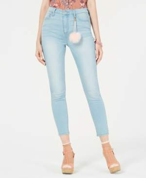 Tinseltown Juniors' High Rise Skinny Jeans