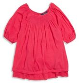 Ralph Lauren Toddler's Little Girl's & Girl's Smocked Top