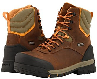 Bogs Bed Rock 8 Insulated Composite Toe (Black Multi) Men's Boots