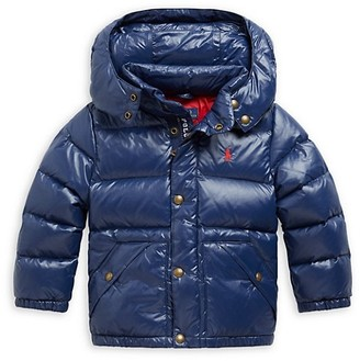 Ralph Lauren Little Boy's Hawthorne Hooded Puffer Down Jacket