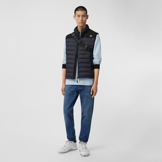 Burberry Logo Graphic Puffer Gilet