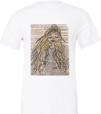 White Imperfect Princess Tee