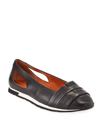 Gentle Souls Luca Cutout Leather Comfort Flats