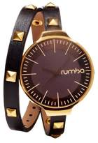 RumbaTime Women's Orchard Double Wrap Watch