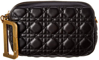 Christian Dior Quilted Leather Pouch