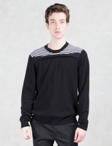 Opening Ceremony Reid Stripe Crewneck Sweater