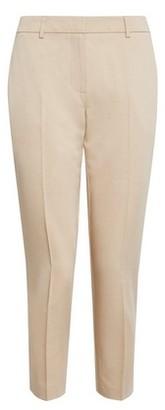 Dorothy Perkins Womens Dp Petite Stone Naples Ankle Grazer Trousers, Stone