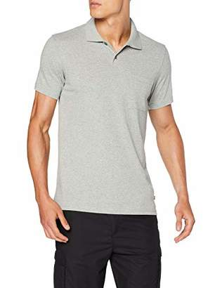 Fjallraven Greenland Re-Cotton Polo Shirt M, Men, Grey
