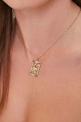 Forever 21 Dragon Pendant Necklace