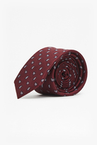 French Connection Madhar Mini Paisley Silk Tie