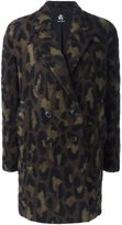 Paul Smith 'Double-breasted Leo' coat - women - Polyamide/Polyester/Viscose/Wool - 46