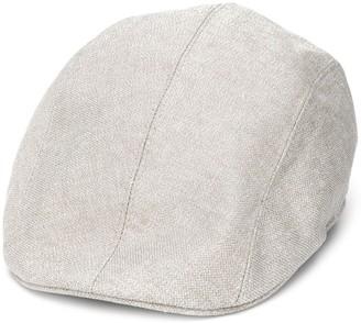 Brunello Cucinelli Metallic Flap Cap