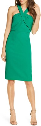 Vince Camuto Halter Neck Sleeveless Dress