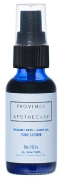 Province Apothecary Radiant Body Oil, 1 oz