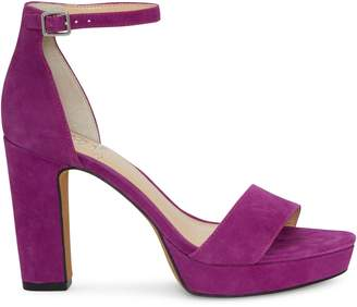 Vince Camuto Sathina Suede Ankle-Strap Sandals