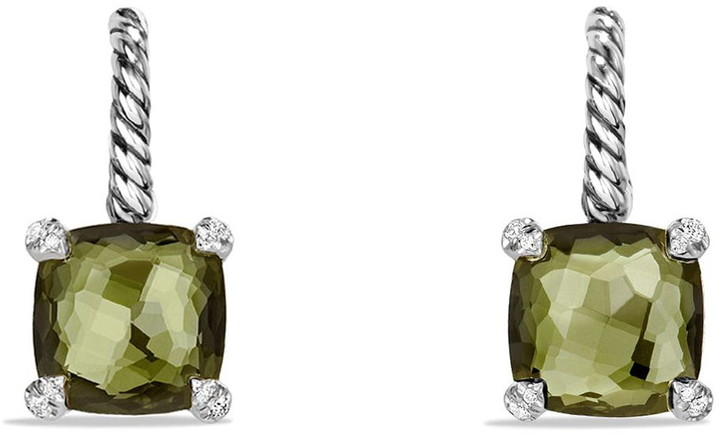 David Yurman 'Chatelaine' Drop Earrings with Semiprecious Stones and Diamonds