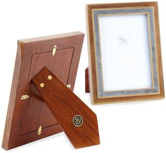 "SV Casa Madagascar Double Picture Frame, 4"" x 6"""