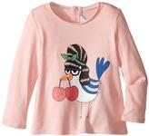 Little Marc Jacobs Fancy Cherry Modal Long Sleeve Tee Shirt (Infant)