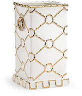 "Chelsea House 15"" Square Ring Vase - Gold"