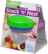 Sistema Snack and Nest Food Storage Container, Assorted