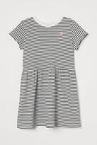 H&M Printed Cotton Dress - White