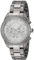 Invicta Women's 'Angel' Quartz Stainless Steel Casual Watch, Color:Silver-Toned (Model: 21419)