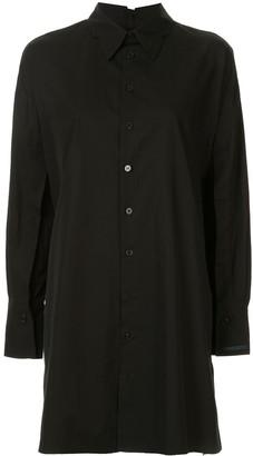 Yohji Yamamoto Long Button-Up Shirt
