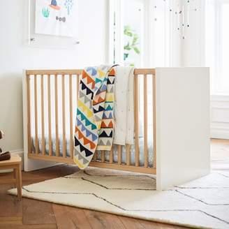 west elm Layton Convertible Crib - White
