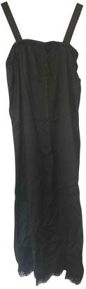 Maison Margiela Black Silk Dresses