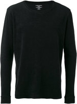 Majestic Filatures French terry sweater - men - Cotton/Modal - L