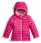 The North Face Girls' Reversible Mossbud Swirl Jacket, Pink, Size 2-4T