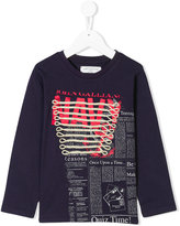 John Galliano long sleeve printed T-shirt