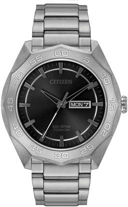 Citizen Men's Brycen Eco-Drive Bracelet Watch, 44mm