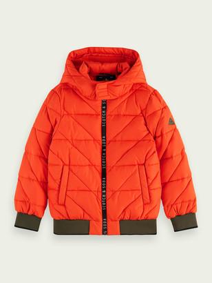 Scotch & Soda Zip-up padded jacket | Boys