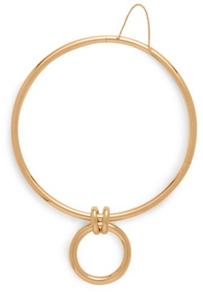 Bottega Veneta 18kt Gold-plated Sterling-silver Drop Choker - Gold