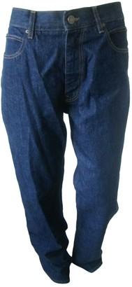 Calvin Klein Blue Cotton Jeans