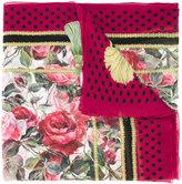 Dolce & Gabbana printed scarf - women - Silk - One Size