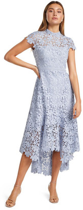 Forever New Petites Chessie Open Back Lace Petite Maxi