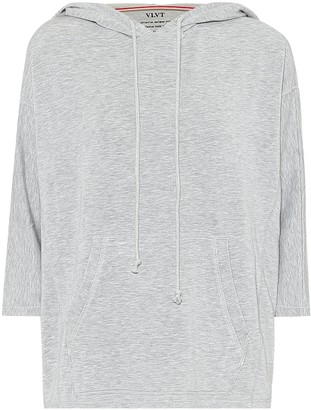 Velvet Christina stretch-jersey hoodie