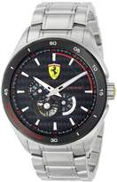 Ferrari Men's 830109 Analog Display Japanese Automatic Silver Watch